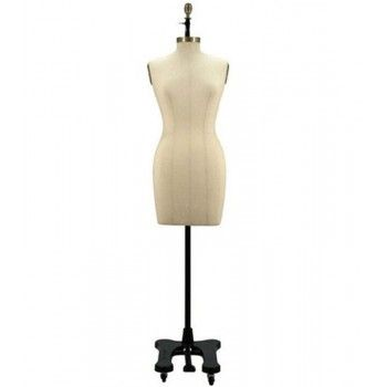 Tailored vintage bust mannequin woman