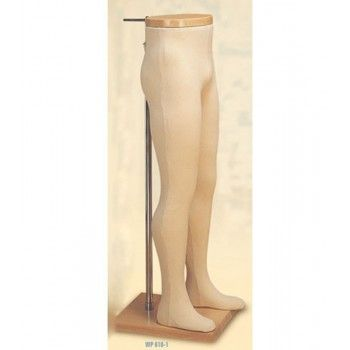 Mannequin leg man pantalon flexible m