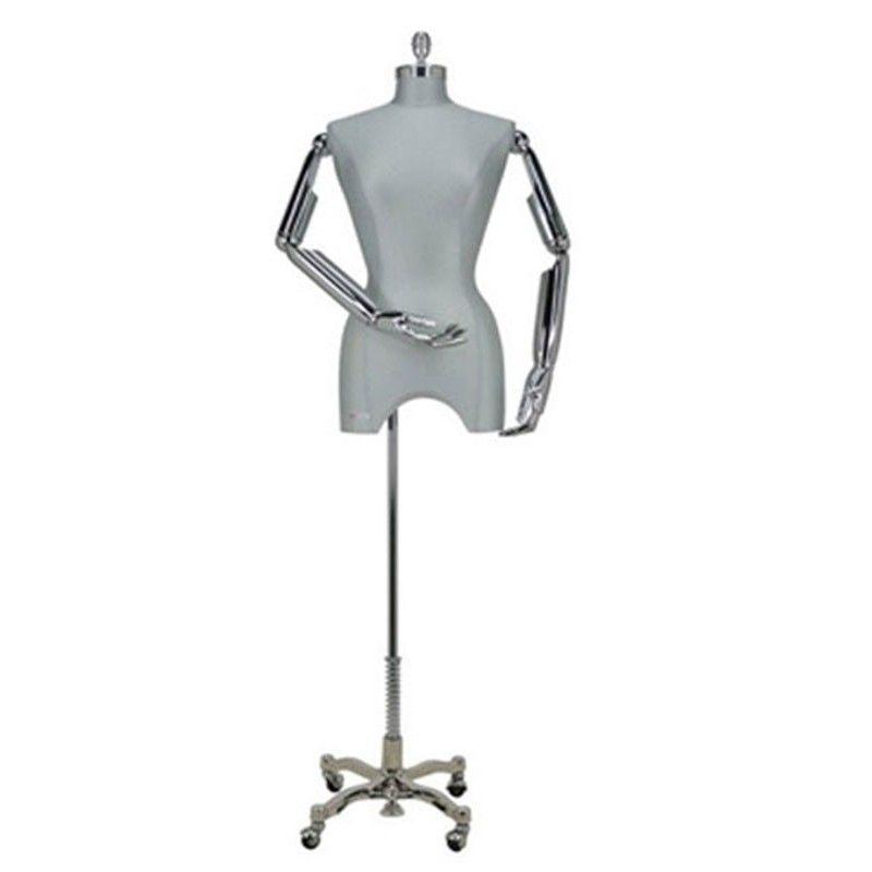 Femme mannequin buste chic
