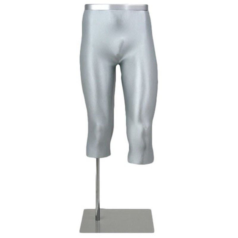 Mannequin homme jambe 3/4 legs alu male