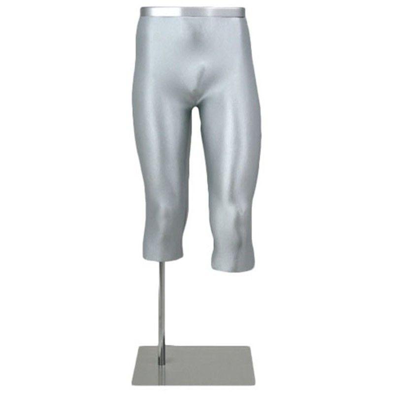 Manichino uomo gamba - 3/4 gambe alluminio