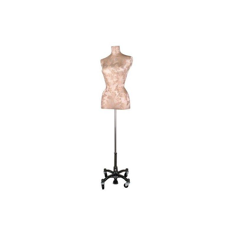 Femme mannequin buste couture buste brocart