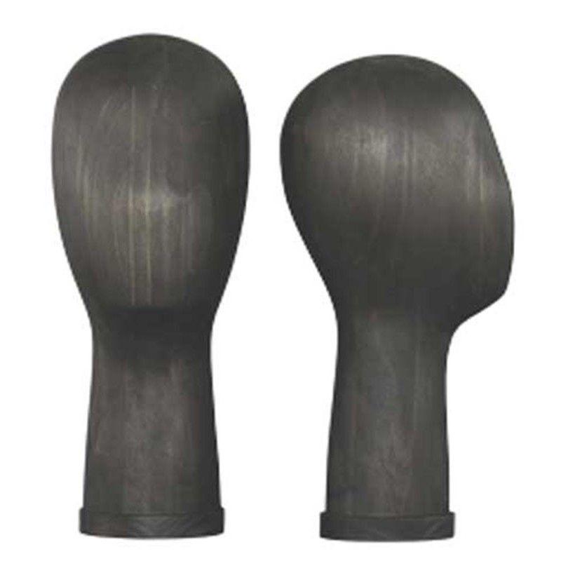 Tete en bois noir homme frmt-01