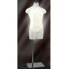 Mannequin buste homme lumineux
