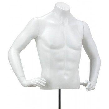 Man bust mannequin y421