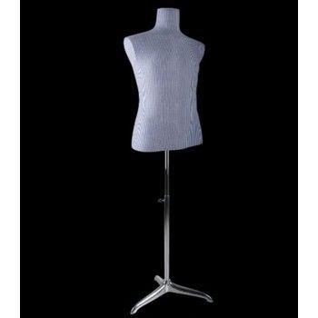 Buste couture bc966 bleu-gris