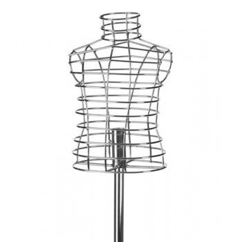 Mannequin child bust buste cage child 1y