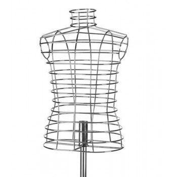 Mannequin buste enfant : Buste en forme de cage 6 ans