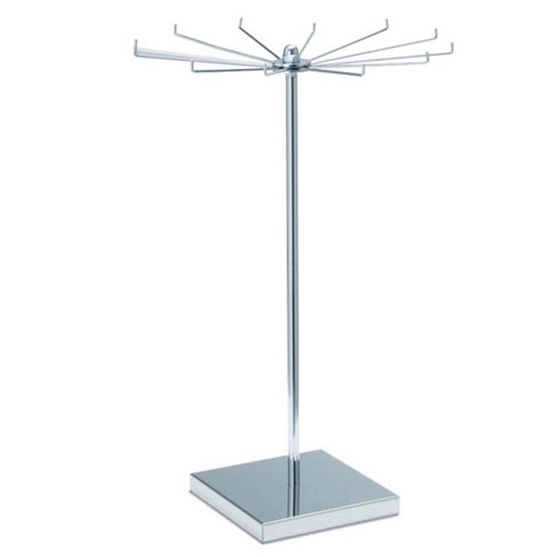 Display stand revolving counter top 287