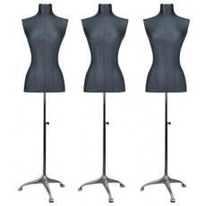 Pack de 3 mannequins buste femme jersey small
