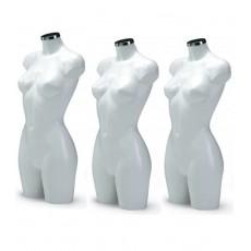 Confezione da 3 bellissimi busti femminili