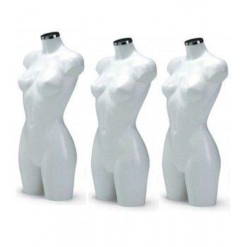 Femme mannequin pack buste...