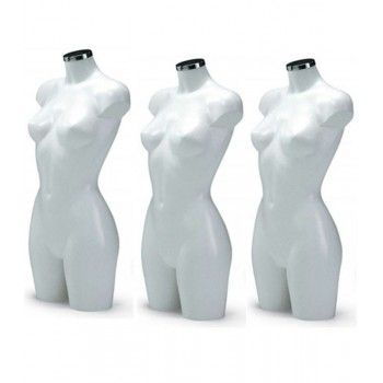 Femme mannequin pack buste pack basic