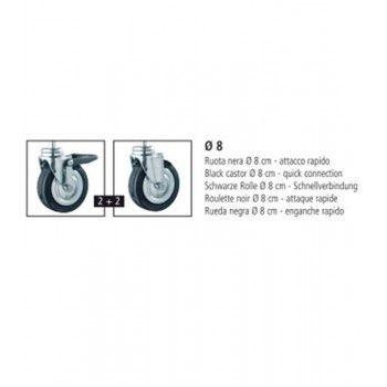 Rollstander vierkantrohr st251300