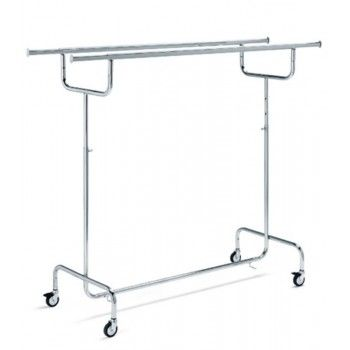Double garment rail fid...