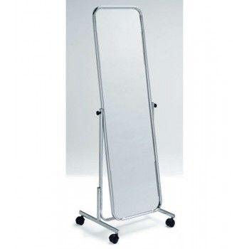 Miroir orientable sur roulettes pour magasin fid st 294