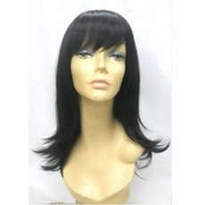 Peluca señora : maniquí peluca negro e16b-21851b