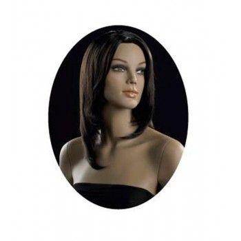Parrucca donna capelli castani ma-pf-20/4