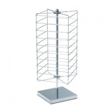 Display stand revolving counter top 288