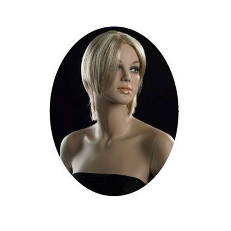 Parrucca da donna capelli biondi corti ma-pf-11/22