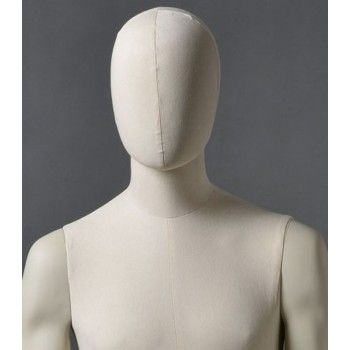 Mannequin vitrine homme cltu20 blanc