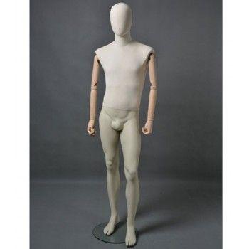 Mannequin homme abstrait - Mannequin vitrine homme msu2