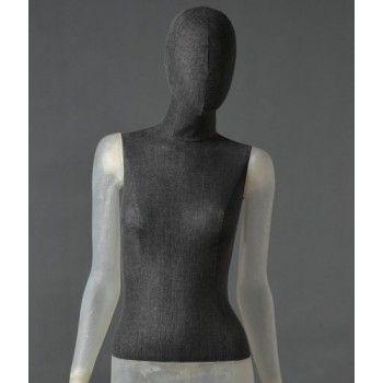 Maniquí feminina cltd12 transparente