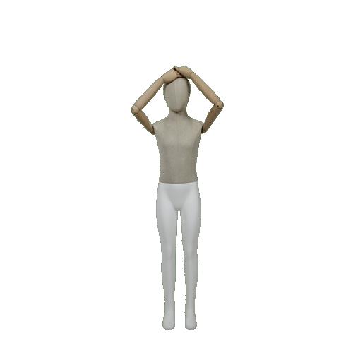 Mannequin Enfant 10 / 12 ans en Bois MN-Y-510