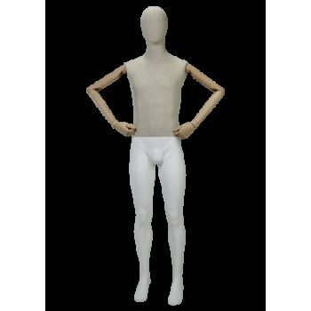 Mannequin Homme en Bois MN-Y526