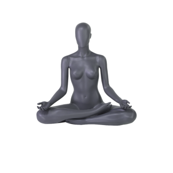 Mannequin femme sport position lotus FN2201
