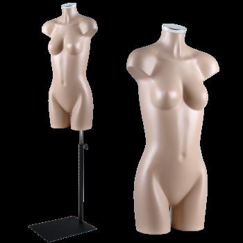 Mannequin woman bust rm226-10
