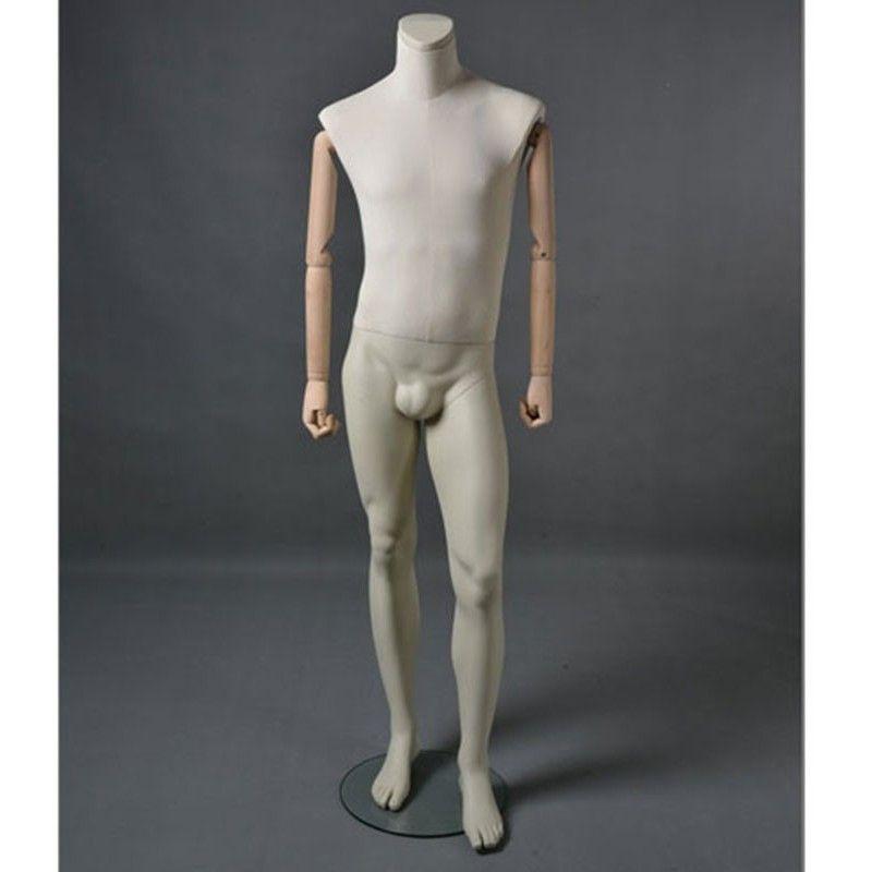 Mannequin vitrine homme msu2 sans tête