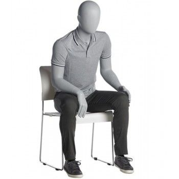 Seated male mannequins ma56