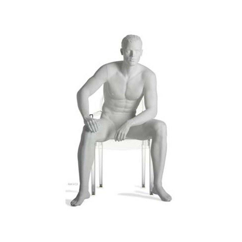 Maniquí hombre sentado run ma-9