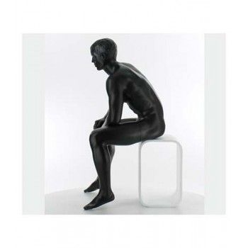 Mannequin vitrine homme assis ma-9-03