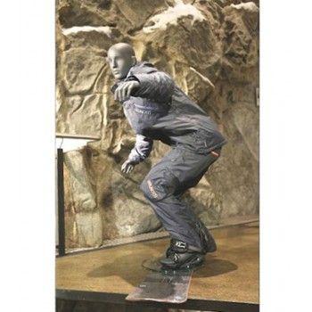 Mannequin vitrine homme snowboarder ws26