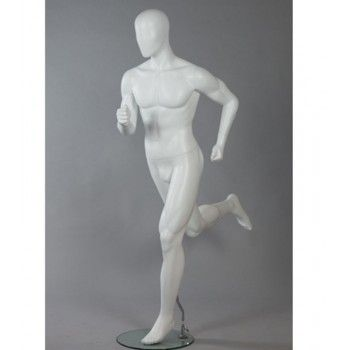 Running male mannequin dis run4 xl - Display Mannequins Sport Male