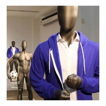 Display male mannequin boxing ftb9