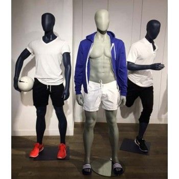 Male football mannequin ftb1d
