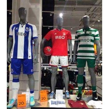 Footballer window mannequin ftb1b