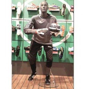 Mannequin de vitrine basketball-football ws12