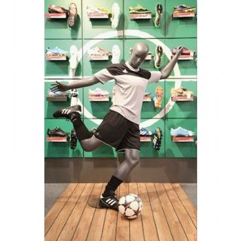 MANNEQUIN DE VITRINE FOOTBALL WS18