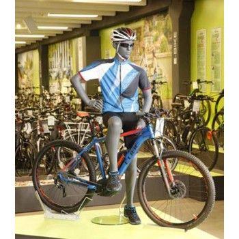 Herren schaufensterfiguren fahrrad ws30