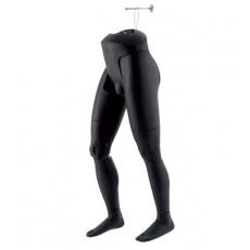 Mannequin Jambes Flexibles Suspendus Homme Noir