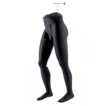 Mannequin flexible man male legs hanging