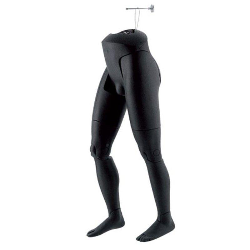 Manichini flexible uomo male legs hanging