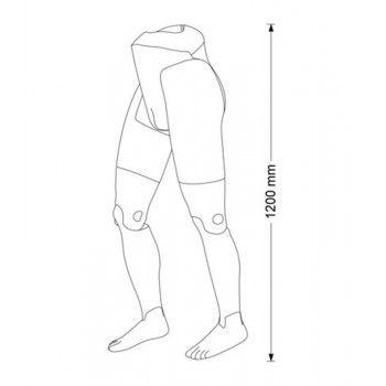Mannequin flexible man male legs hanging