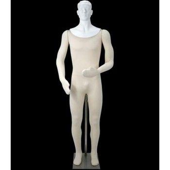 Mannequin vitrine homme flexible dp4826 ty302