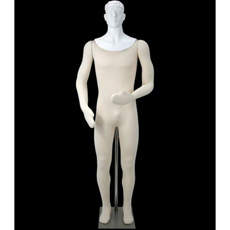 Flexible male mannequin ty302