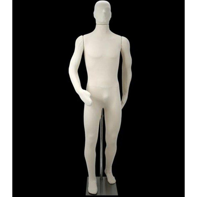 Mannequin vitrine homme flexible dp4826 th